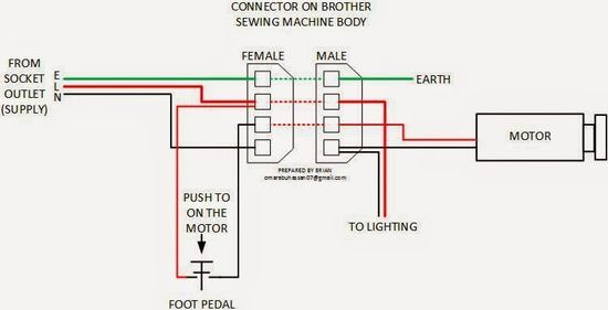 Foot Switch Wiring Diagrams