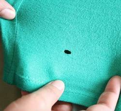 Mending-A-Hole-In-Stretch-Fabric