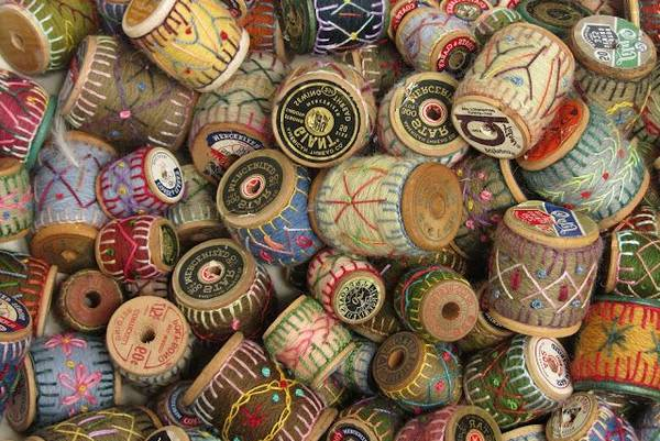 Antique-Wooden-Thread-Spools-Value-20-Recycle-Projects