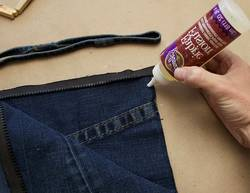 How-do-You-Glue-Fabric-to-Denim