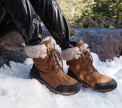 Are-Suede-Boots-Good-For-Snow