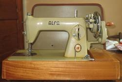 The Vintage Alfa Sewing Machine (History, Price, Review)