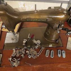 How Old Is My New Home Sewing Machine Models Value